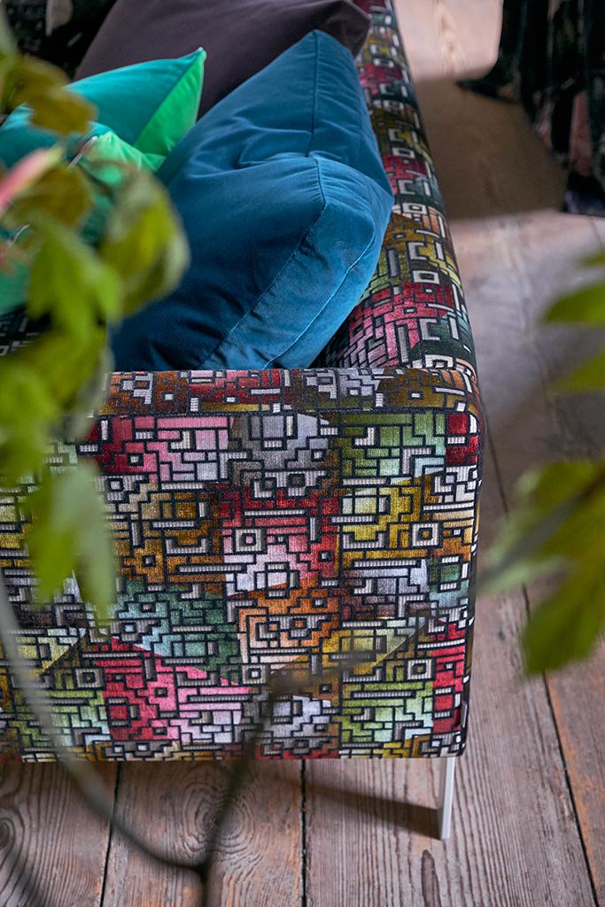 Fabric and colour ideas, interior design