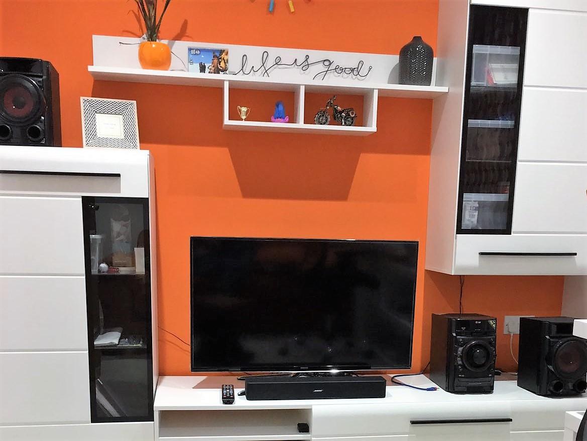 Orange lounge