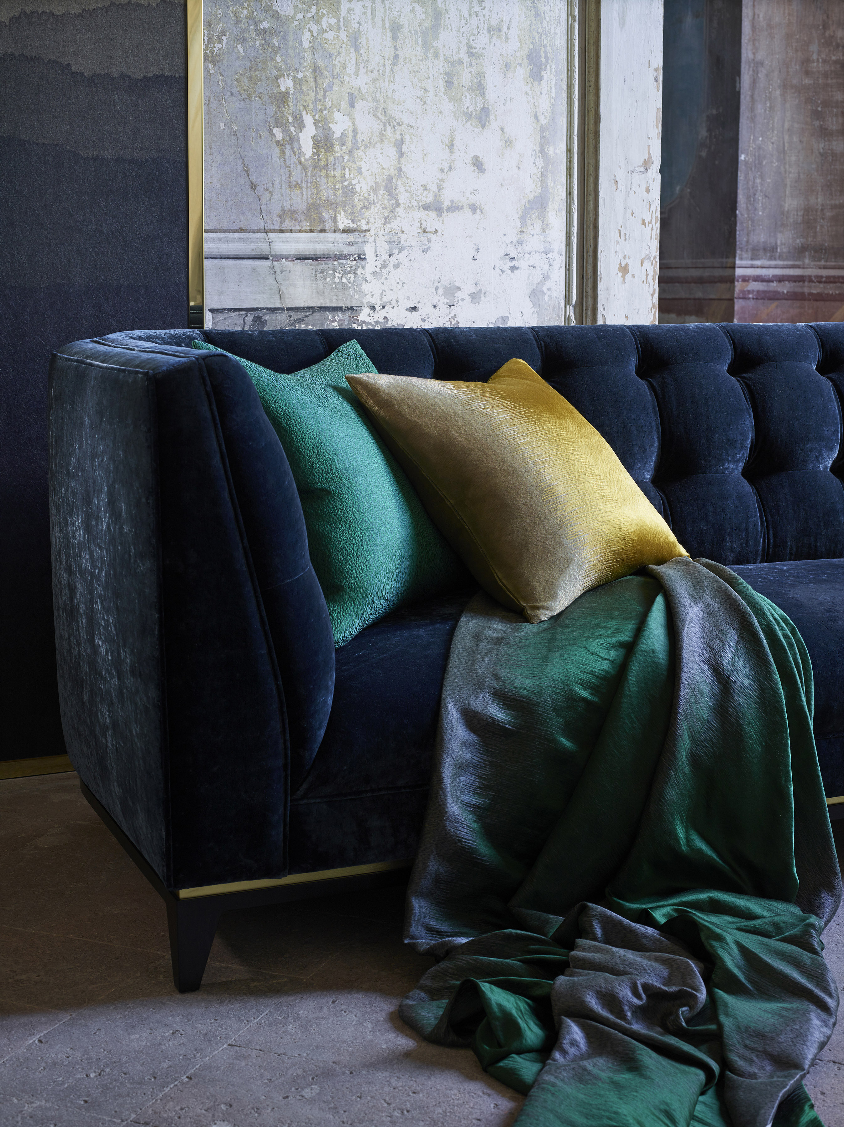 rich fabric and colour ideas